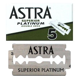 Astra Superior Platinum Double Edge 5st