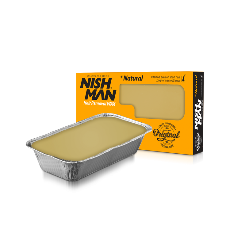 Nishman Hair Removal Wax Natural 500g