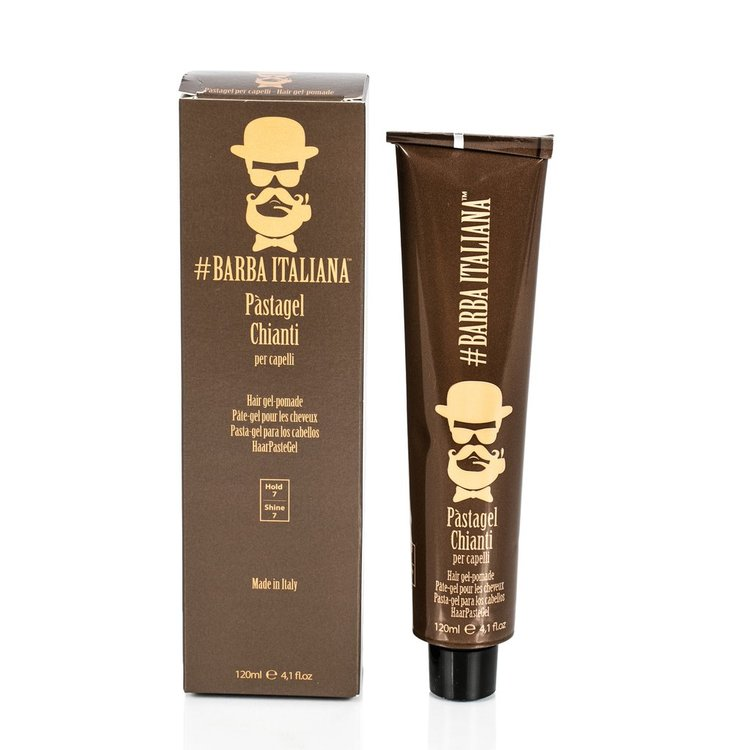 Barba Italia Hair Gel Pomade Chianti 120ml