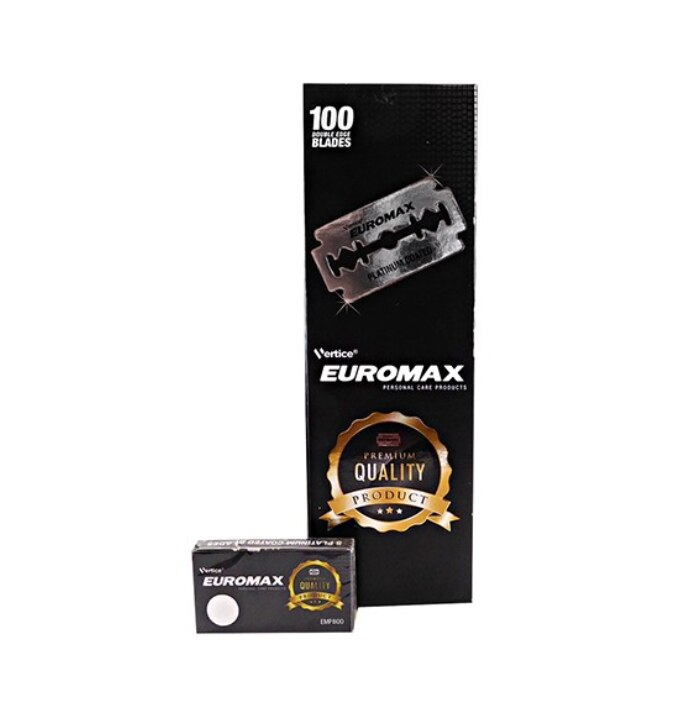 Euromax Platinum DE-rakblad 100pcs