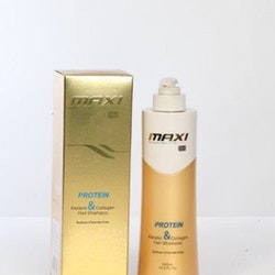 Maxi Brazilian Gold Keratin & Protein Hair Shampoo 500ml