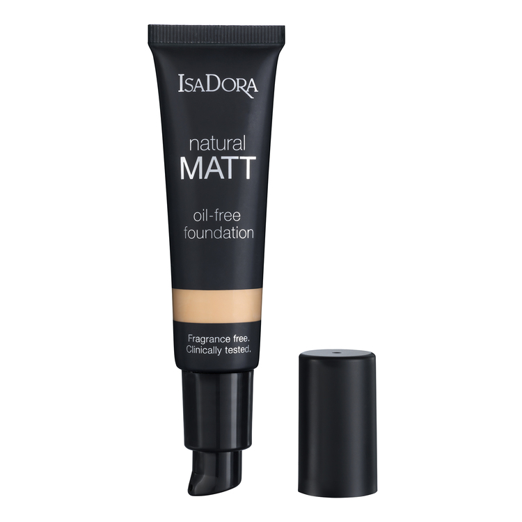 IsaDora Natural 12 Matt Sand Oil-Free Foundation 35ml