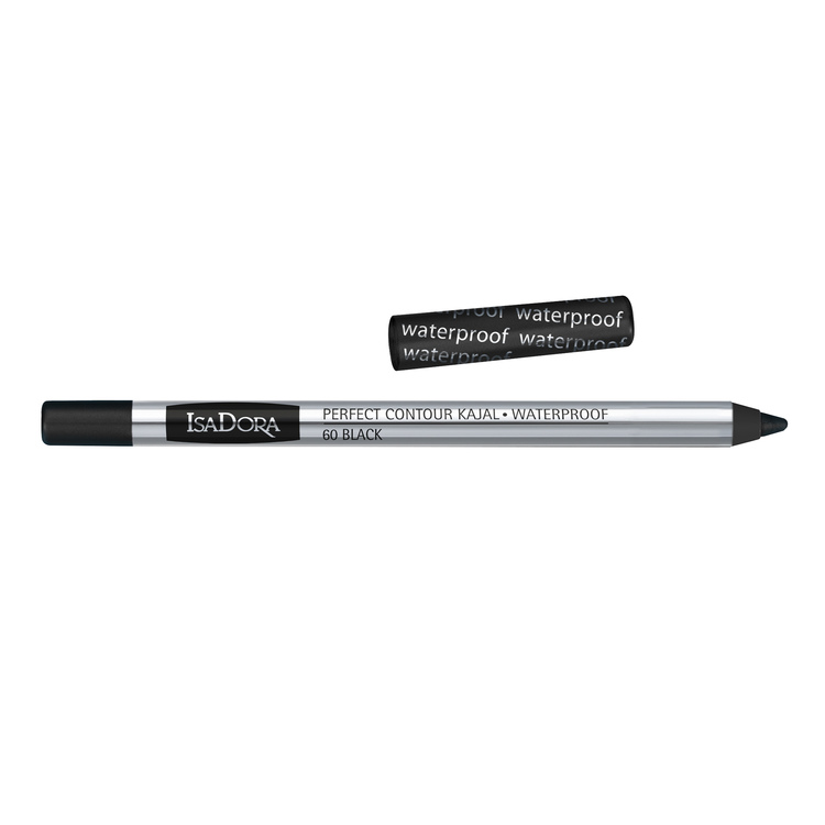 IsaDora Perfect Contour Kajal 60 Black Waterproof 1.3g