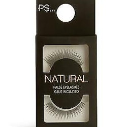 PS... False Eyelashes Natural + Glue 4g