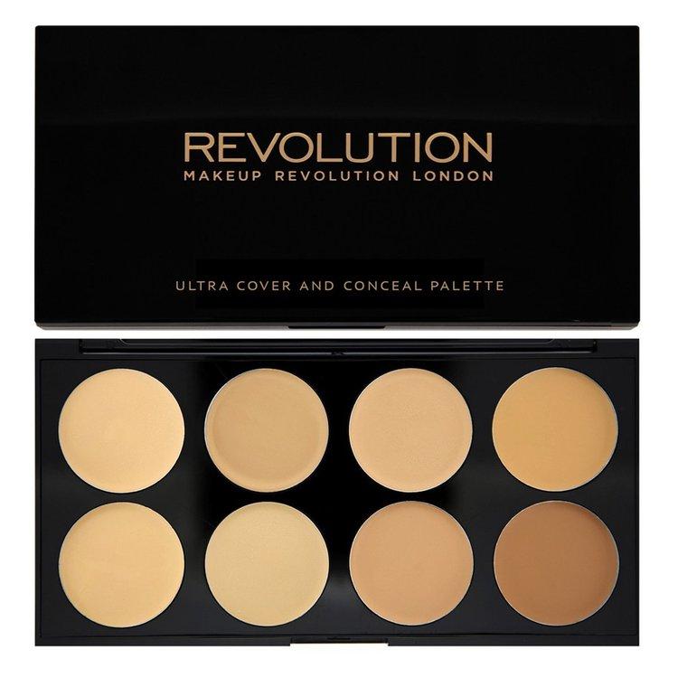 revolution Ultra Cover & Concealer Palette Light Medium