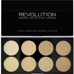 Revolution Ultra Cover And Concealer Palette Light