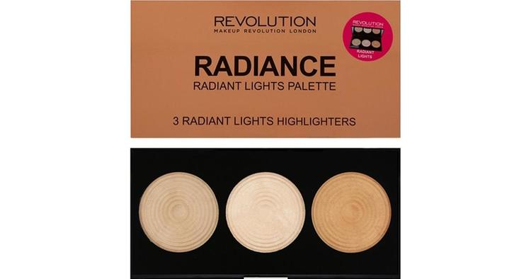 Revolution Highlighter Palette Radiance Light