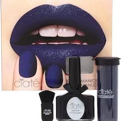 Ciaté Caviar Manicure Blue Suede Set
