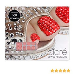 Ciaté Jewel Pedicure Ruby Slippers Set
