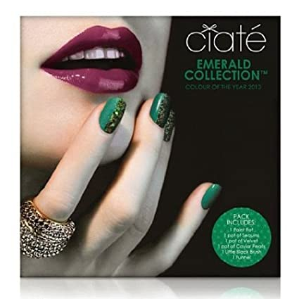 Ciaté Caviar Manicure Emerald Collection Set