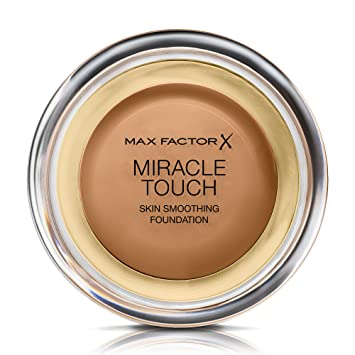 Max Factor Miracle Touch Skin Smoothing Foundation 85 Caramel