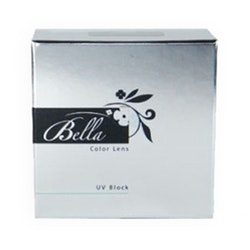 Bella Snow White Color Lens Turquoise