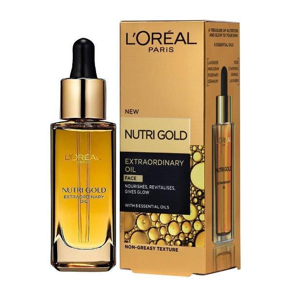 L'Oreal Paris Nutri Gold Extraordinary Face Oil 30ml