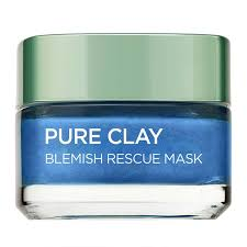 L'Oreal Paris Pure Clay Anti Blemish Rescue Mask 50ml