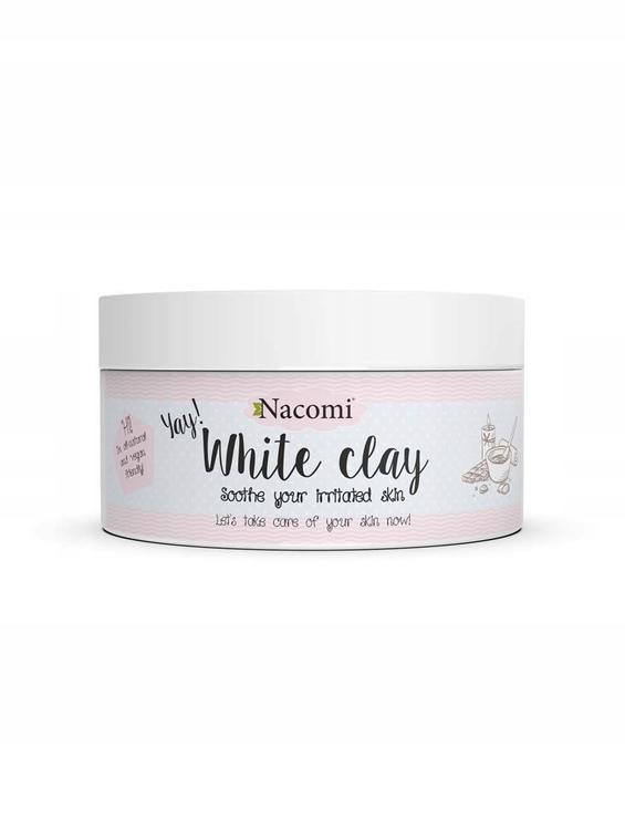 Nacomi Face & Body Clay Yay! White 50g