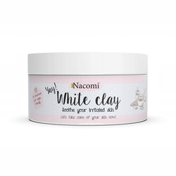 Nacomi Face & Body Clay Yay! White 50g