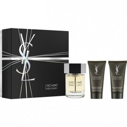 Yves Saint Laurent L'Homme edt 60ml + SG 50ml + AS Balm 50ml for Men