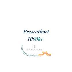 Presentkort Lancca.se Medium