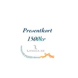Presentkort Lancca.se Large