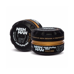 NishMan Styling Wax 07 Gold 150ml