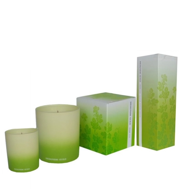 Designers Guild Green Fig 2x Candles + 100ml Room Fragrance