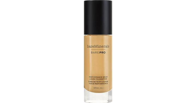 bareMinerals BarePro Performance Liquid Foundation 30ml Sable 21