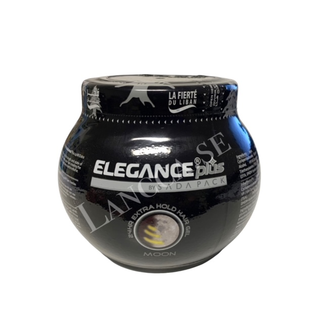 Elegance Extra Hold Hair Gel Moon 1000ml