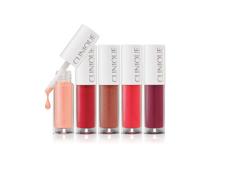 Clinique Pop Splash Lip Gloss + Hydration 5-set