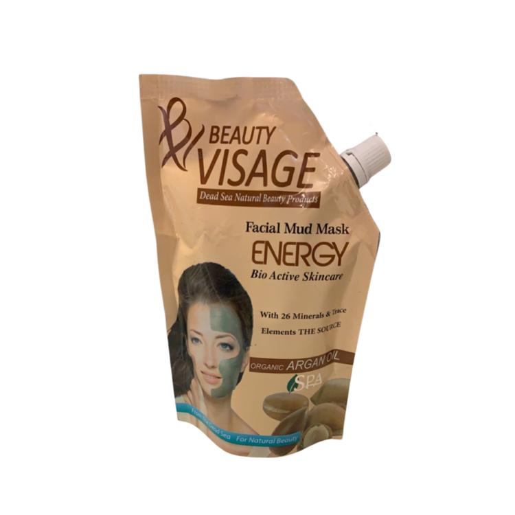 Beauty Visage Dead Sea Facial Mud Mask Bio Active + Argan Oil 500gr