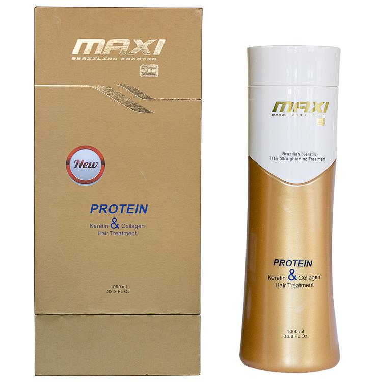 Maxi Brazilian Gold Protein & Keratin Hair Treatment 1000ml