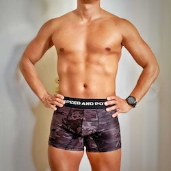 Speed and Power Black Camo Boxer Limited Edition