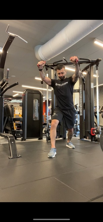 Speed and Power T-shirt män Svart Premium