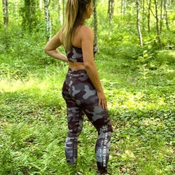 Speed and Power kompression leggings Rooscamo