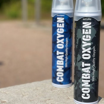 COMBAT OXYGEN 99% 10L Perfect Combo Natural + Peppermint