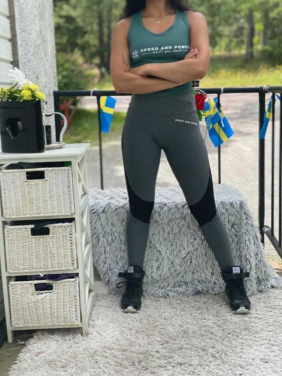 Speed and Power seamless leggings Väsby premium