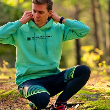 Speed and Power hoodie turkos