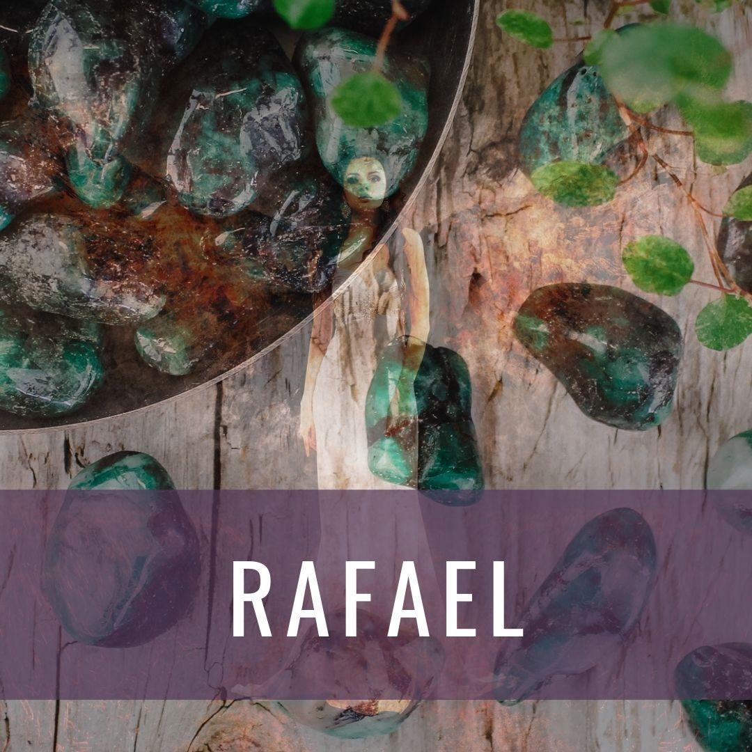 Ärkeängel Rafael - Kristallakademin