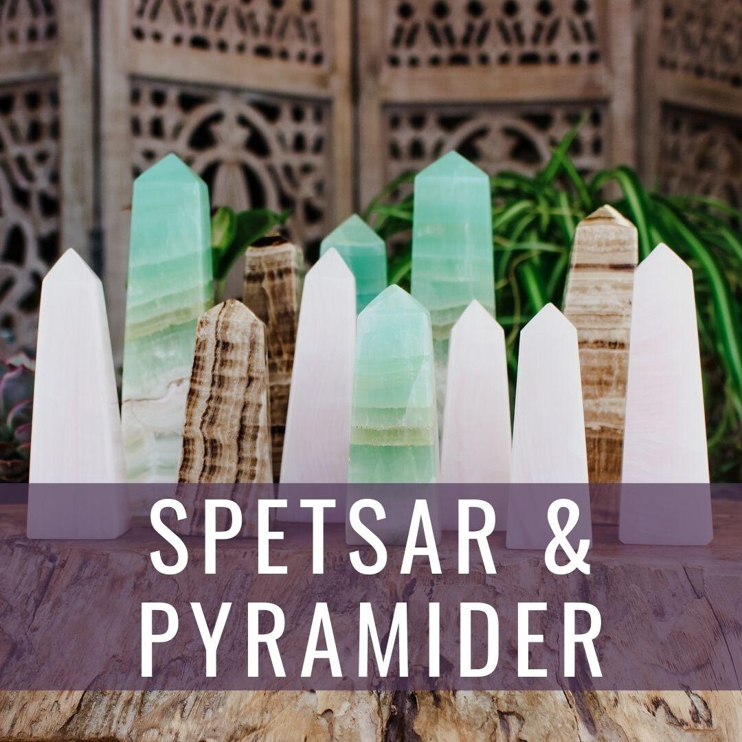 Spetsar & pyramider - Kristallakademin