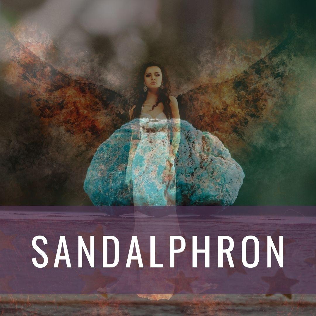 Ärkeängel Sandalphron - Kristallakademin