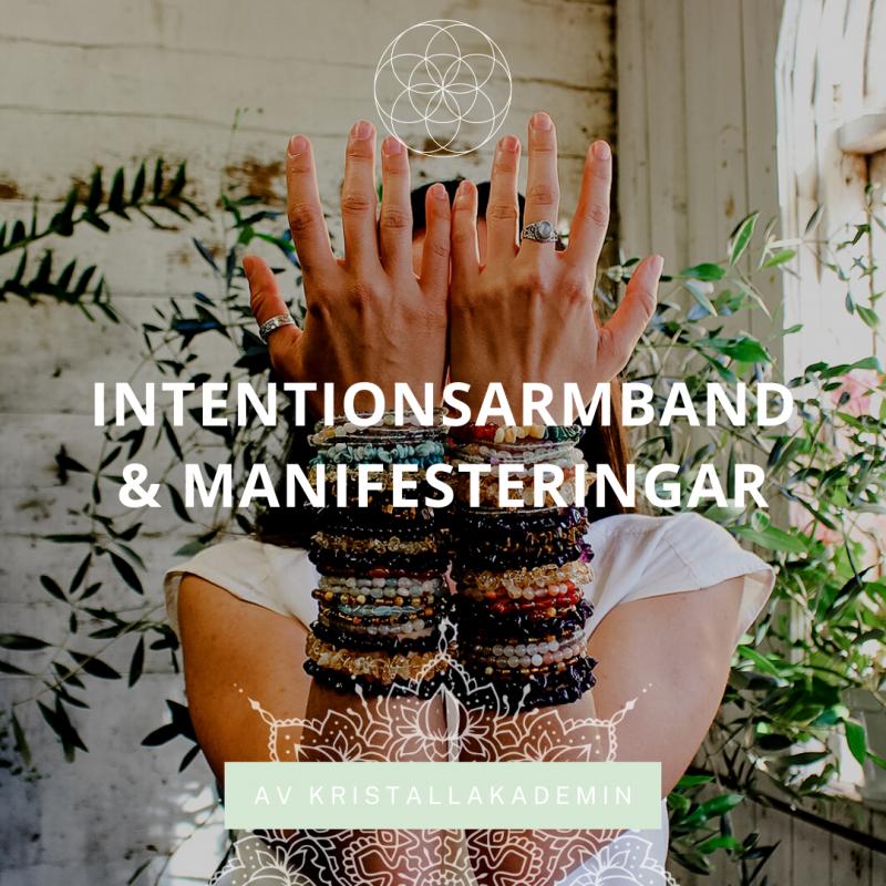 Intentionsarmband & Manifesteringar