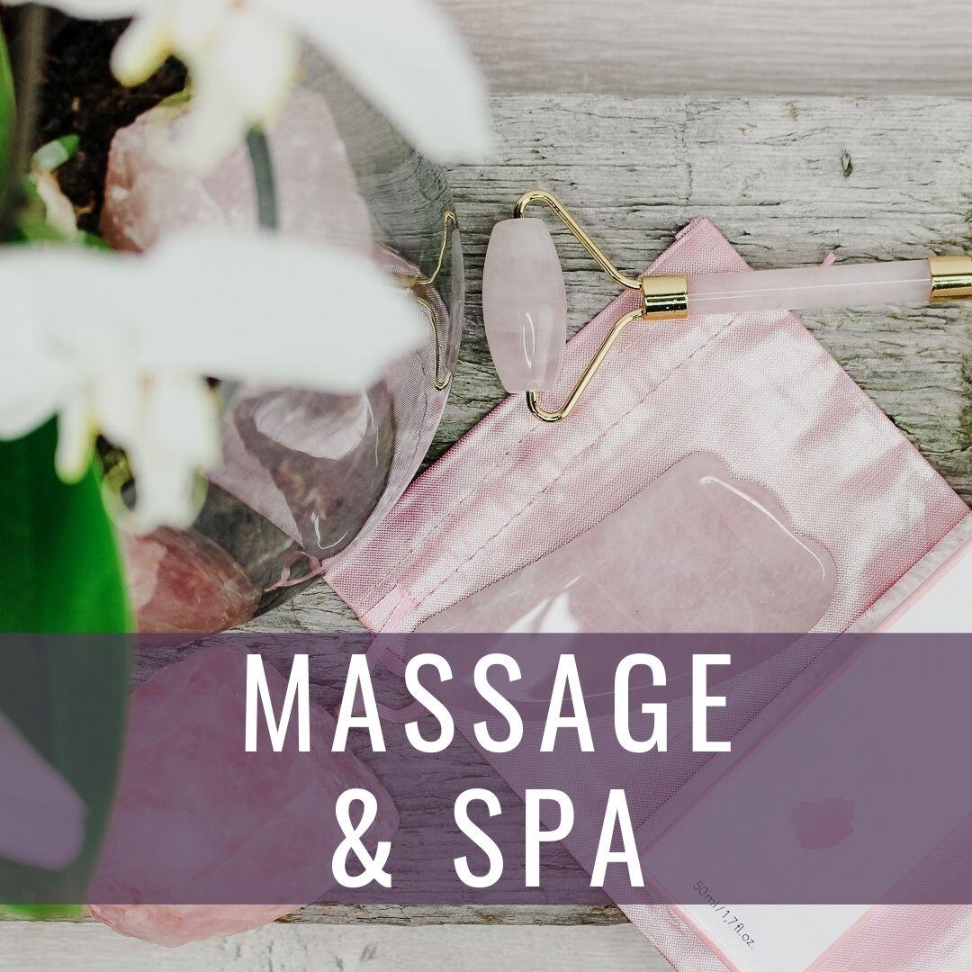 Massage & spa - Kristallakademin