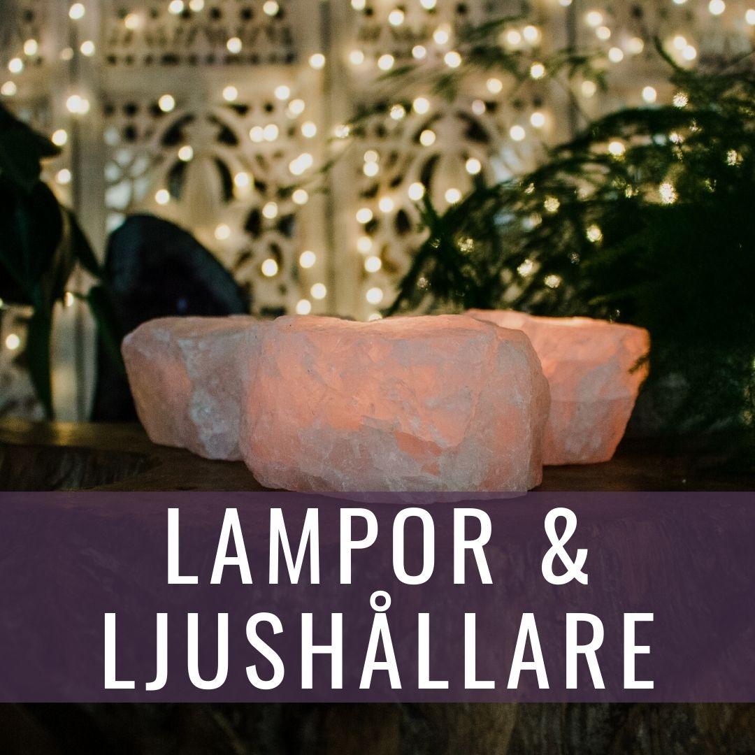 Lampor & ljushållare - Kristallakademin