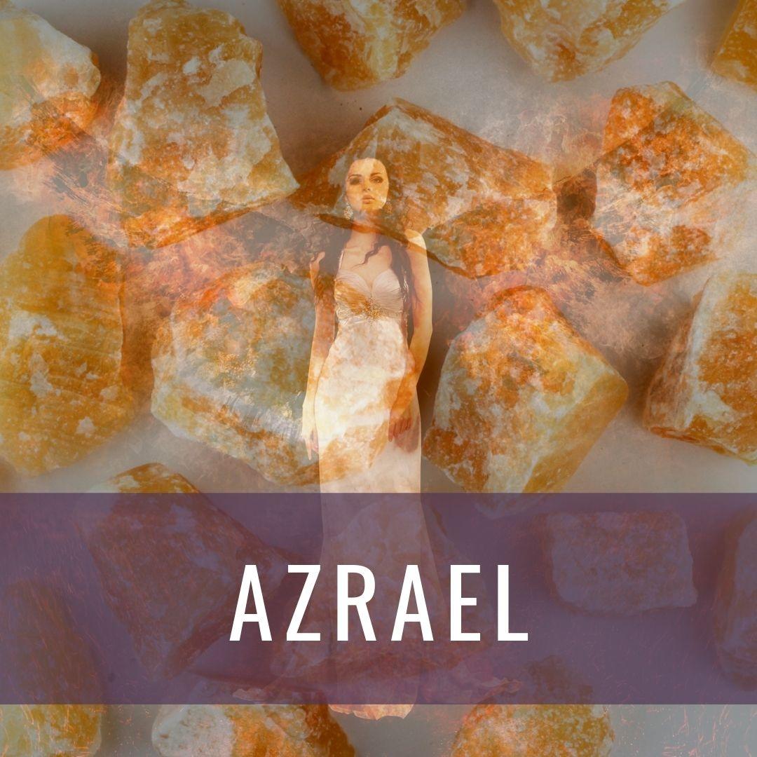 Ärkeängel  Azrael - Kristallakademin