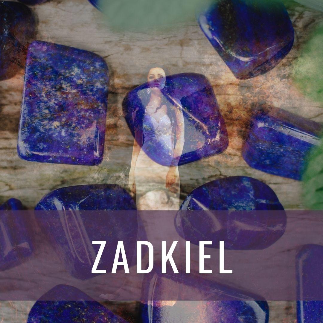 Ärkeängel Zadkiel - Kristallakademin