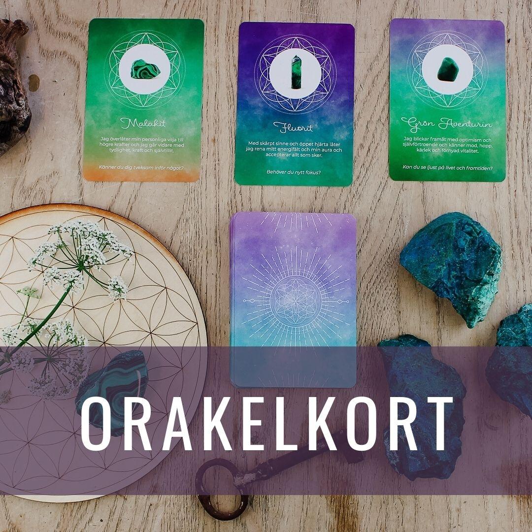 Orakelkort - Kristallakademin