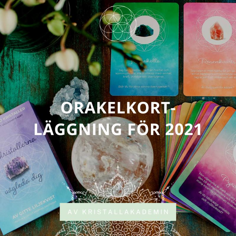 Orakelkort-läggning för 2021