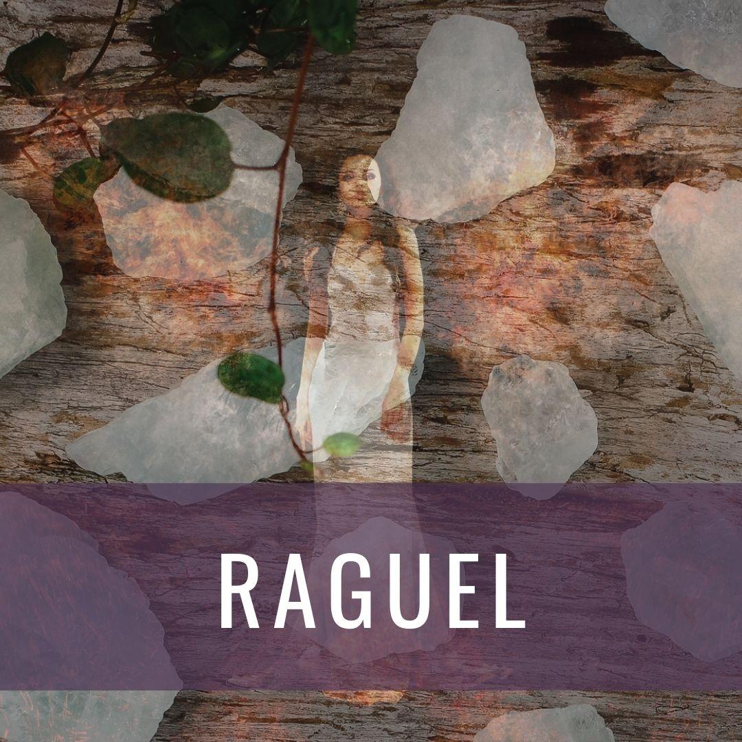 Ärkeängel Raguel - Kristallakademin