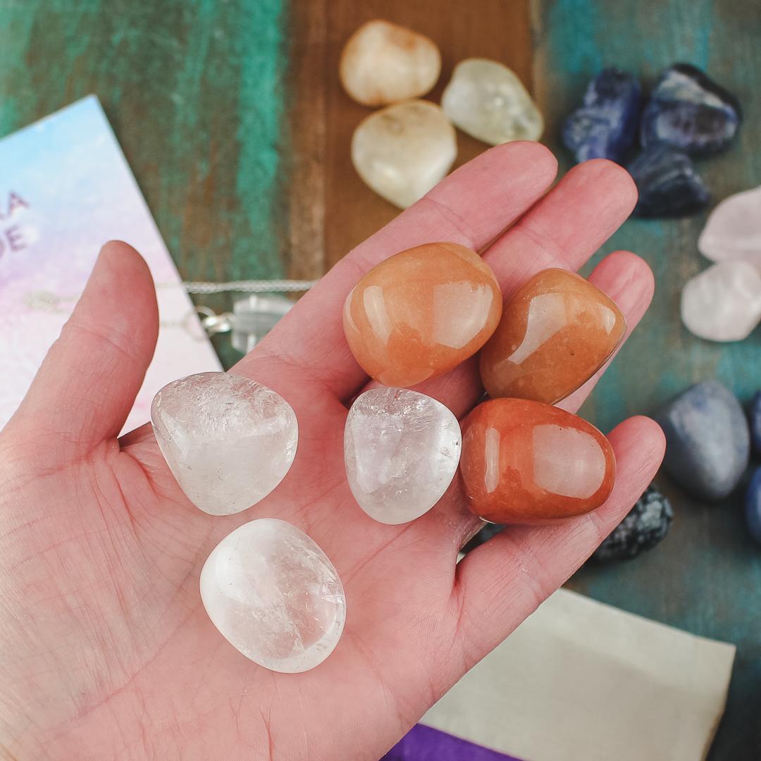 Kristaller för Chakrabalansering