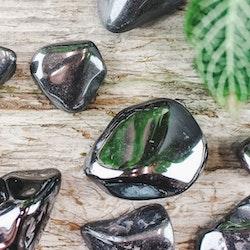 Hematit, trumlade stenar
