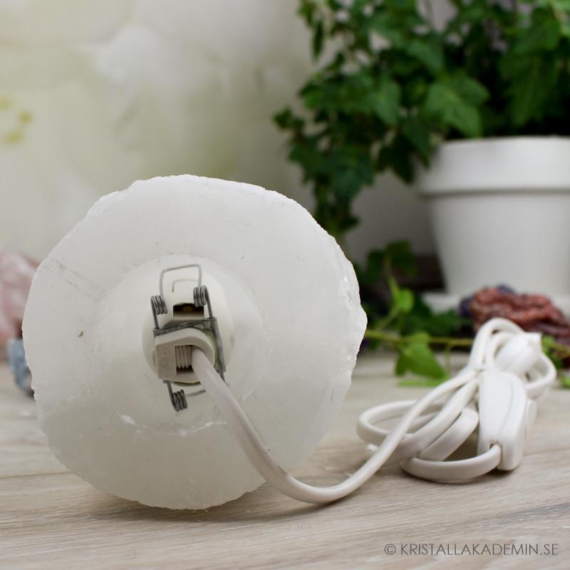 Selenit, lampa